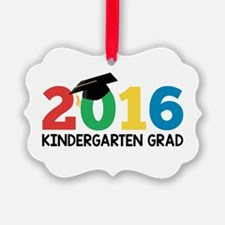 2016 Kindergarten Grad Ornament