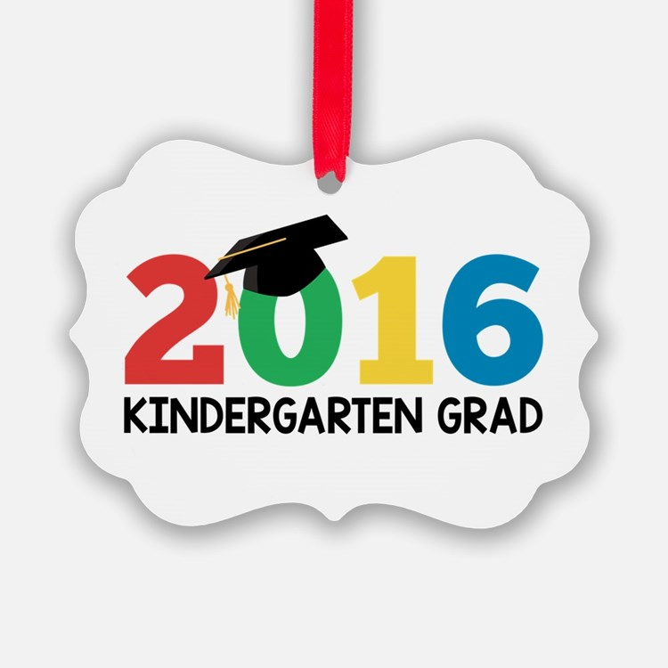 2016 Kindergarten Grad Ornament