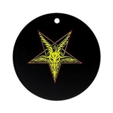 Goat of Mendes Ornament (Round)