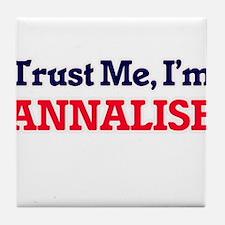 Trust Me, I'm Annalise Tile Coaster