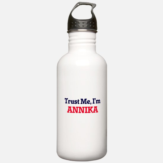 Trust Me, I'm Annika Sports Water Bottle