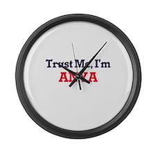 Trust Me, I'm Anya Large Wall Clock
