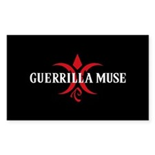 Guerrilla Muse Rectangle Decal