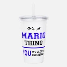 It's MARIO thing, you Acrylic Double-wall Tumbler
