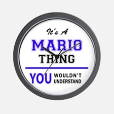 It's MARIO thing, you wouldn't understa Wall Clock