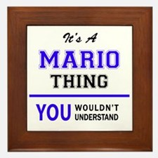 It's MARIO thing, you wouldn't underst Framed Tile