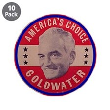 """Goldwater-1 3.5"""" Button (10 pack)"""