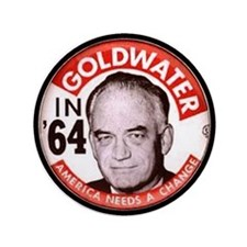 """Goldwater-2 3.5"""" Button"""