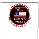 Free Lauren Yard Sign