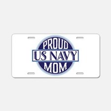 Proud US Navy Mom Aluminum License Plate