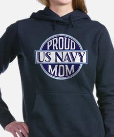 Proud US Navy Mom Women's Hooded Sweatshirt