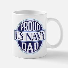 Proud US Navy Dad Mugs