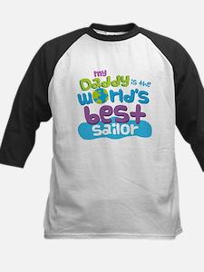 Worlds Best Sailor Daddy Baseball Jersey