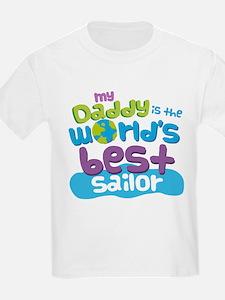 Worlds Best Sailor Daddy T-Shirt
