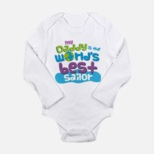 Worlds Best Sailor Daddy Body Suit