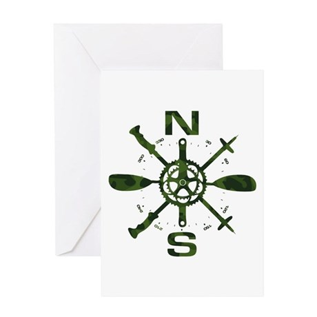 Adventure Compass Greeting Card