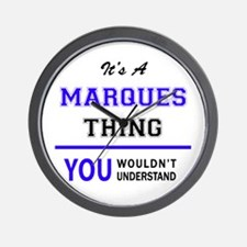 It's MARQUES thing, you wouldn't unders Wall Clock