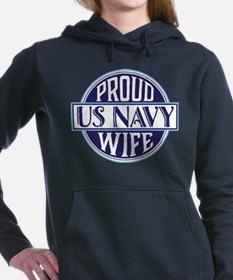 Proud US Navy Wife Women's Hooded Sweatshirt