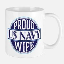 Proud US Navy Wife Mug