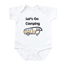 Let's Go Camping Infant Bodysuit