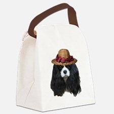 Cute Charles Canvas Lunch Bag