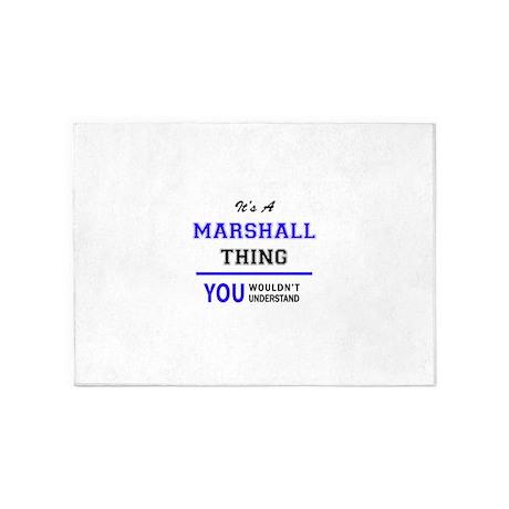 Itu0027s MARSHALL Thing, You Wouldnu0027t U 5u0027x7u0027Area Rug