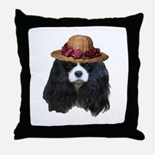 Lady Tansy Throw Pillow