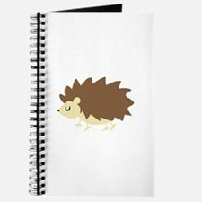 Hedgehog Applique Journal