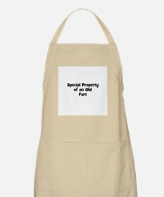 Special Property of an Old Fa BBQ Apron