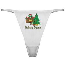 Irish Christmas Classic Thong