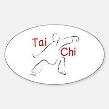 Funny Taoist Sticker (Oval)