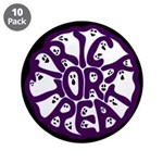 """A Groan of Ghosts 3.5"""" Button (10 pack)"""