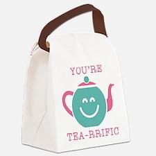 You're Tea-rrific Canvas Lunch Bag