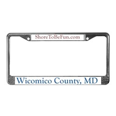 Wicomico County Maryland License Plate Frame