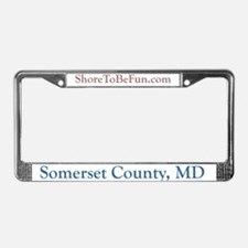 Somerset County Maryland License Plate Frame