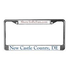 New Castle County Delaware License Plate Frame