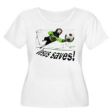 Jesus Saves soccer shirt | T-Shirt