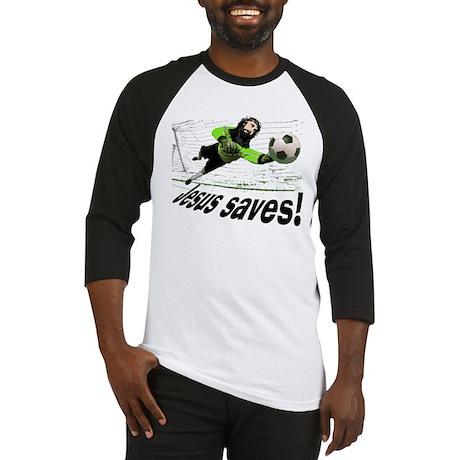 Jesus Saves soccer shirt | Baseball Jersey