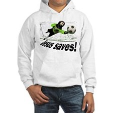 Jesus Saves soccer shirt | Hoodie