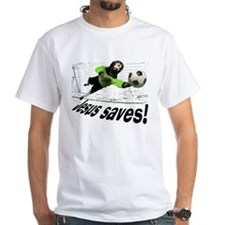 Jesus Saves soccer shirt | Shirt