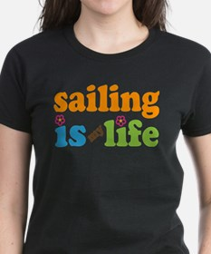 Sailing Is My Life Gif T-Shirt