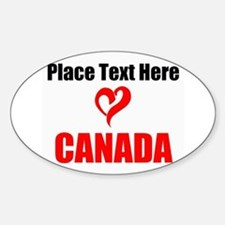 Loves Canada Decal