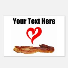 Loves Bacon Postcards (Package of 8)