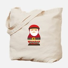 Santa Russian Doll Tote Bag