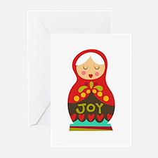 Christmas Doll Greeting Cards