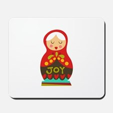 Christmas Doll Mousepad