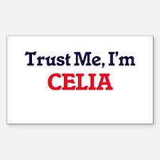 Trust Me, I'm Celia Bumper Stickers