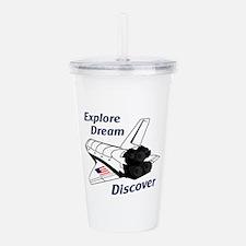 Explore Discover Acrylic Double-wall Tumbler