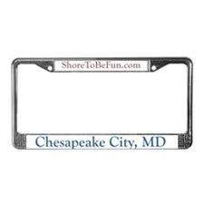 Chesapeake City MD License Plate Frame