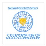 Europe soccer leicester Square Car Magnets